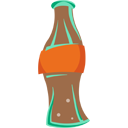 Soda coke bottle icon