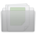 Folder Documents Graphite icon
