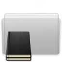 Folder Library Graphite icon