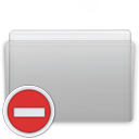 Folder Private Graphite icon