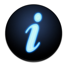 Toolbar Regular Get Info icon