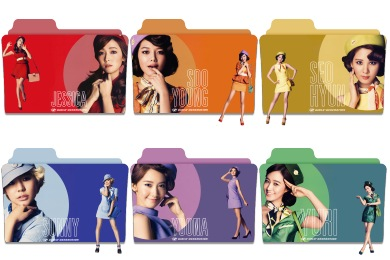 Girls Generation Folder Icons