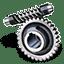 Worm-gear icon
