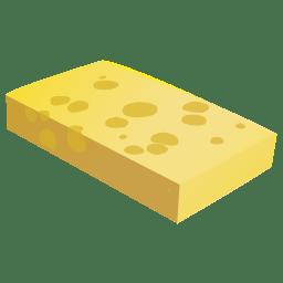 Cheese chunk icon