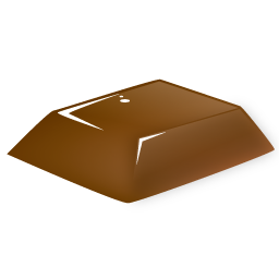 Chocolate block 2 icon