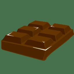 Chocolate block icon