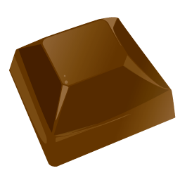 Chocolate piece icon