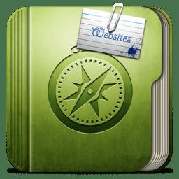 Folder websites Folder icon
