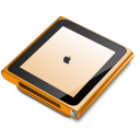 iPod nano orange icon