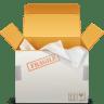Delivery-box icon