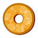 Disc marble icon