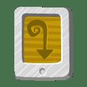 File desert tail icon