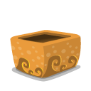 Folder mud open icon