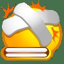 Beat plaster icon