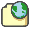 Internet document icon