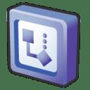Microsoft office 2003 visio icon