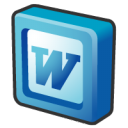 Microsoft office 2003 word icon
