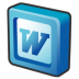 Microsoft-office-2003-word icon