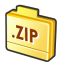 Folder-zip icon