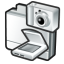 Scanner cameras icon