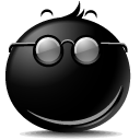 Secret smile icon