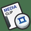 Media cilp icon