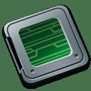 Folder burned system icon