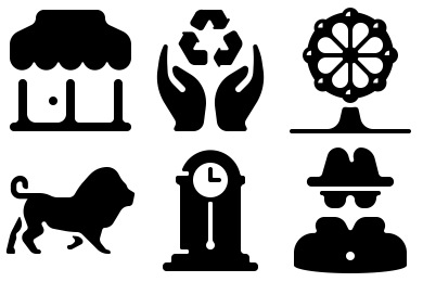 100 Free Solid Icons