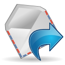 Actions mail forward icon