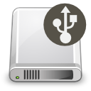 Devices harddisk usb icon