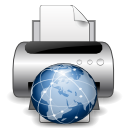 Devices printer network icon