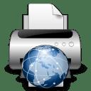 Devices printer network icon