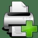 Devices printer new icon
