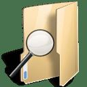 Folder saved search icon