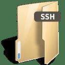 Folder ssh icon