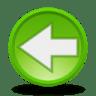 Actions-arrow-left icon