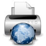 Devices-printer-network icon