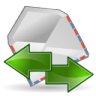 Mail-send-receive icon