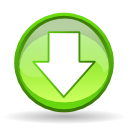 Actions arrow down icon