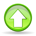 Actions arrow up icon