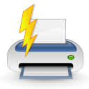 Actions file quickprint icon