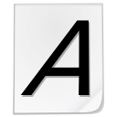 Actions fonts icon