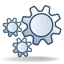 Actions gear icon