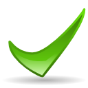 Actions ok icon