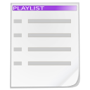 Actions playlist icon
