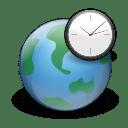 Apps world clock icon