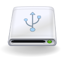 Devices removable usb icon