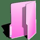 Folder pink icon