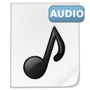 Mimetypes audio icon