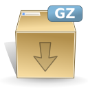 Mimetypes gz icon